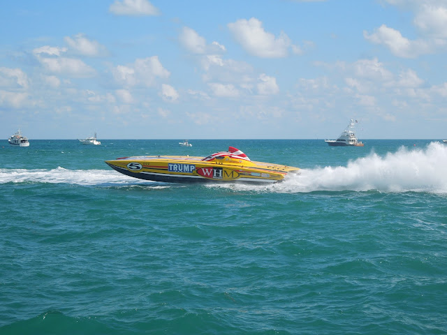 WHM race boat