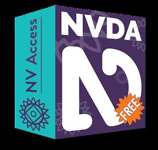 NVDA شعار قارئ الشاشة