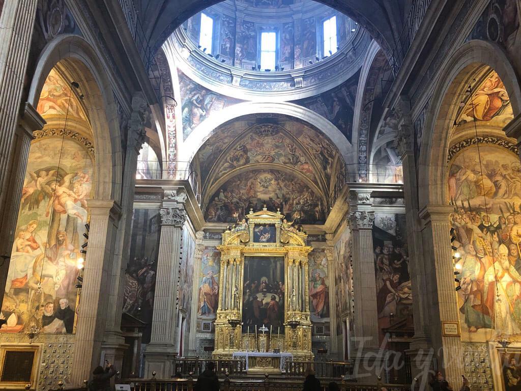 El Patriarca Valencia vista de la iglesia