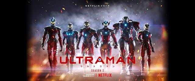 La segunda temporada de Ultraman de Netfli