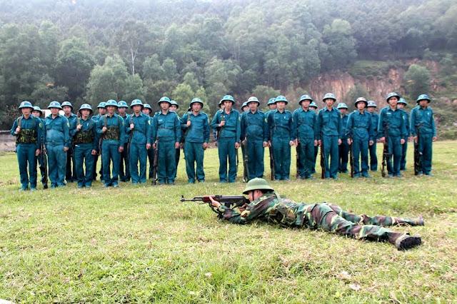 Trường Sĩ quan lục quân 1 thông báo Mức điểm nhận hồ sơ xét tuyển