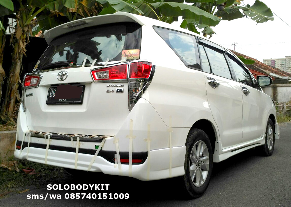 Bodykit All New Kijang Innova Agya G Manual Trd 2017 Reborn Crysta Solo