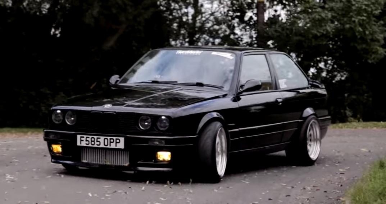 800HP BMW E30 V8 - Ross Bradley | BMW Low
