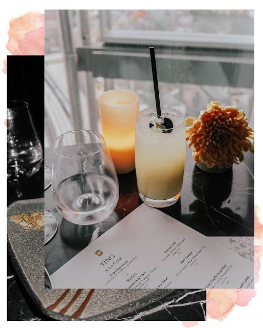 Shangri-La Hotel Ting Restaurant Non-alcoholic Drinks