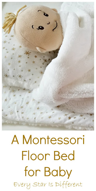 Montessori Floor Bed for Baby