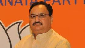 JP Nadda elected as president of world's largest political party BJP