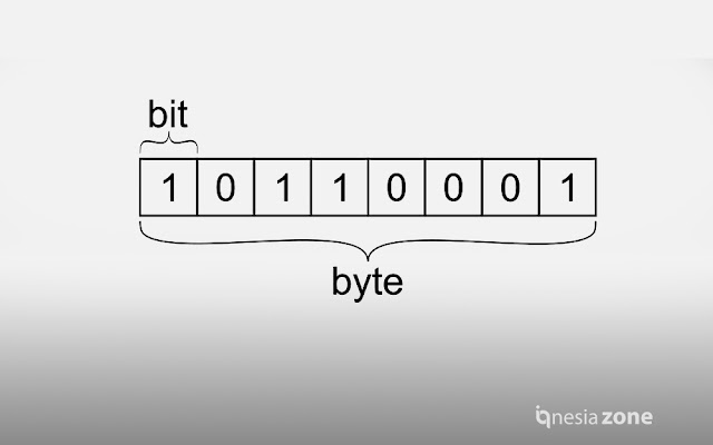 Perbedaan Bit dan Byte: Pengertian & Hubungannya dalam Dunia Digital | IQ Nesia Zone