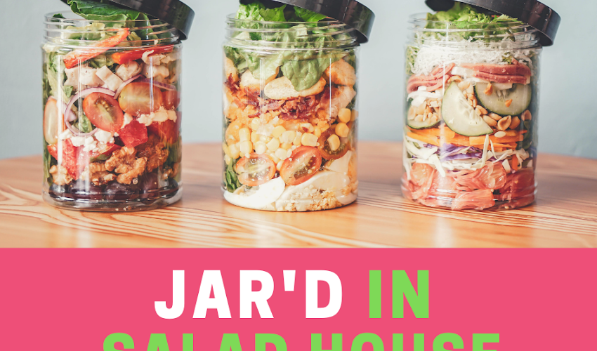 Healthy Food On-the-Go at Jar'd In Salad House