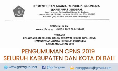 CPNS Kemenag Tahun 2019