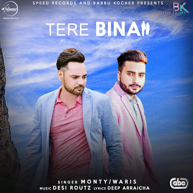 Tere Bina - Monty & Waris (2016) iTunes Original Clean HD Cover AlbumArt Download Wallpaper