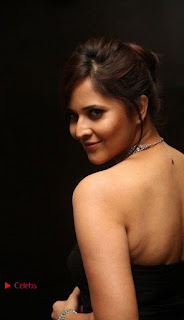 Telugu Anchor Actress Anasuya Bharadwa Stills in Strap Less Black Long Dress at Winner Pre Release Function  0036.jpg