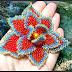 GemsPlusLeather's Beaded Flower Tutorial Giveaway