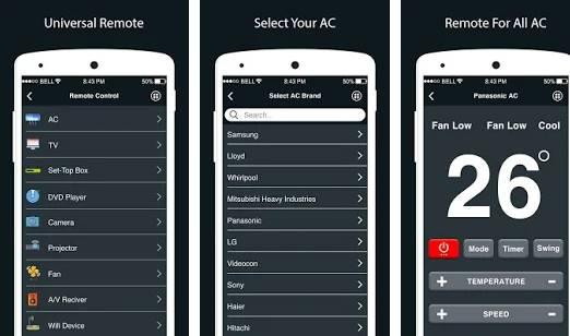 aplikasi remote ac di android - Ac adalah salah satu alat yang digunakan untuk pendingin ruangan dengan alat ini kamu akan dimanjakan dengan ruangan yang begitu sejuk dan dingin tanpa harus ke dataran tinggi.