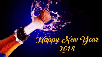 HNY 2018 Widescreen HD Photo Download
