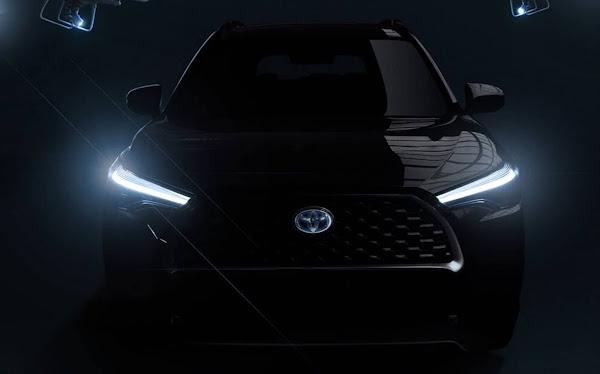 Novo Toyota Corolla Cross: site oficial divulga primeiras fotos