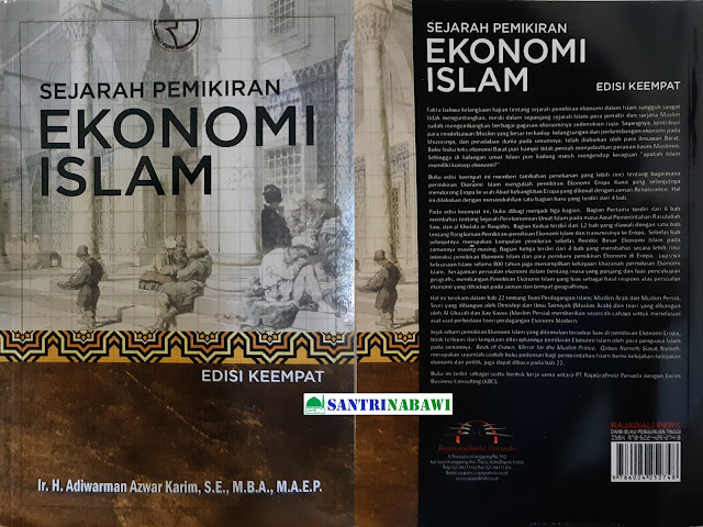 Buku Sejarah Pemikiran Ekonomi Islam - Adiwarman Azwar Karim