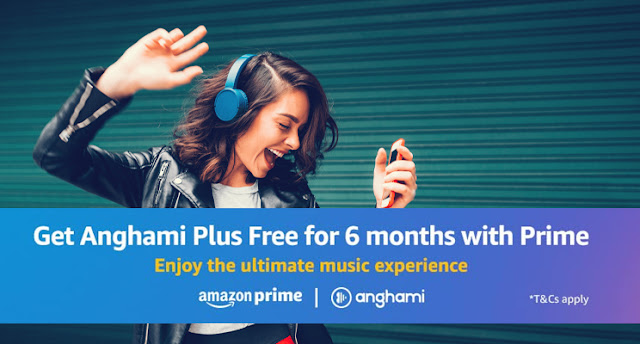 Get Anghami Plus free for 6months