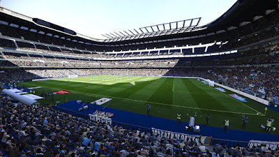 PES 2020 Stadium Anfield + Santiago Bernabeu Update by Jostike