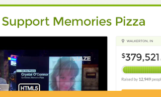 Support for Memories Pizza
