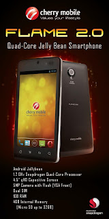 Cherry Mobile Flame 2.0 first Quad Core