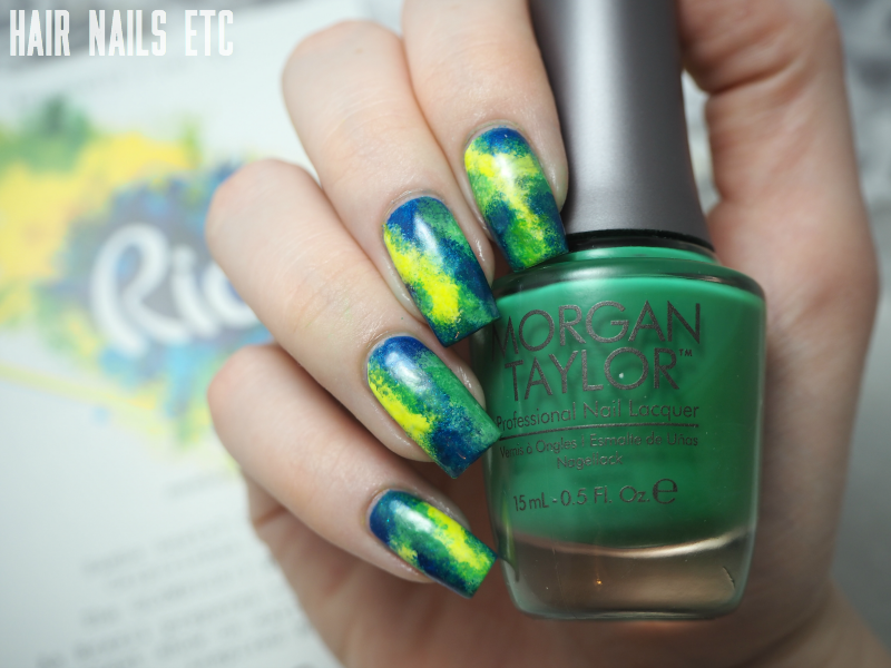 Rio Olympics Nail Art - Meebox July 2016