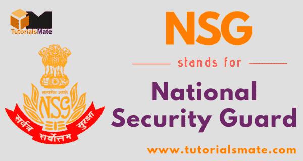 NSG Full Form