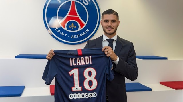 French champions, PSG confirm £52m signing of  Mauro Icardi from Inter Milan following successful loan spell