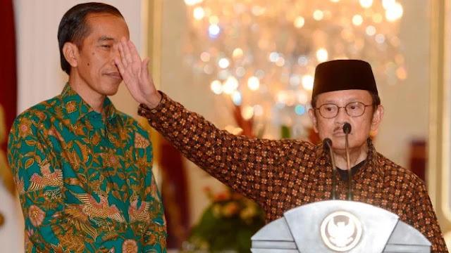 Jokowi dan Pak Habibie