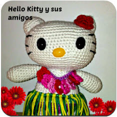 Amigurumis de Hello Kitty