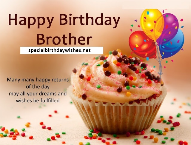 Cool Happy Birthday Wishes for Brother - Birthday Message for Bro