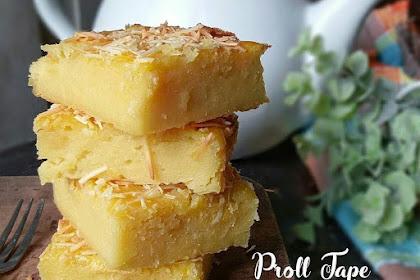 Resep & Cara Membuat Proll Tape Keju yang Lembut Enak