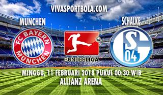 Prediksi Bayern Munchen vs Schalke 11 Februari 2018