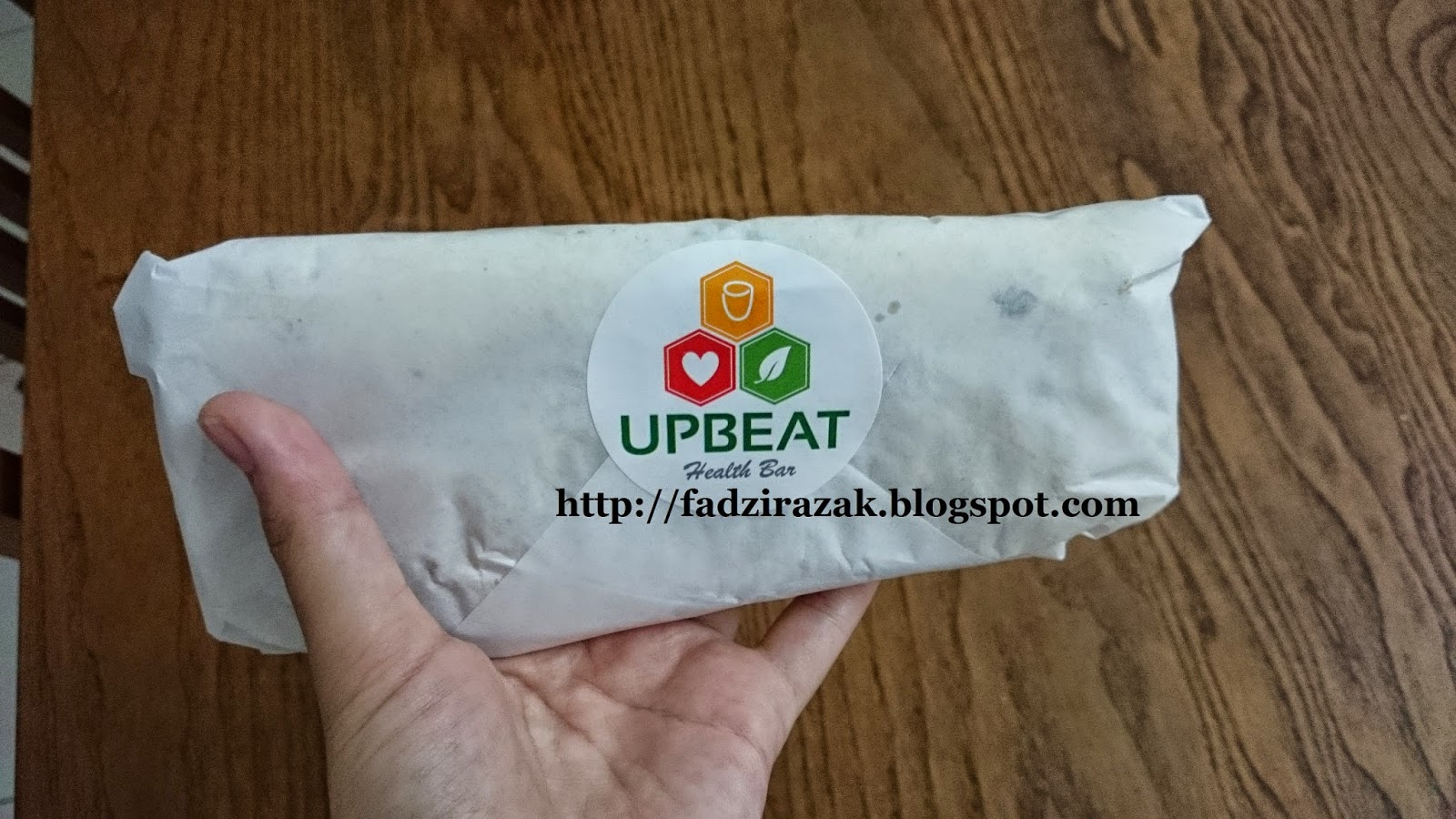 Mushroom Tortilla Wrap UpBeat