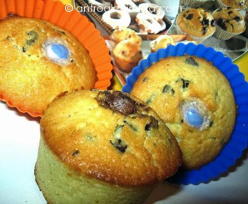 Muffins al Limone con Gocce di Cioccolato