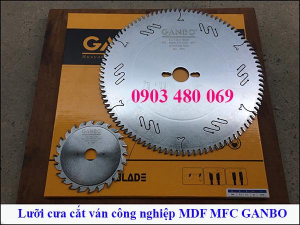 Lưỡi cưa cắt ván công nghiệp cao cấp Ganbo 300x96T