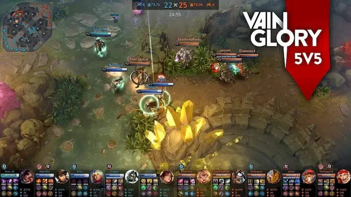 Popular PC MOBA Games Vainglory