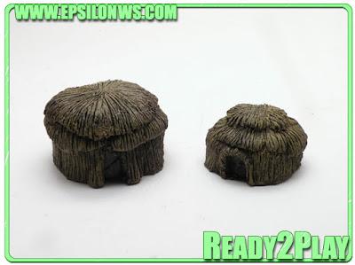 REF: ZUL10-01 Zulu Wars Huts