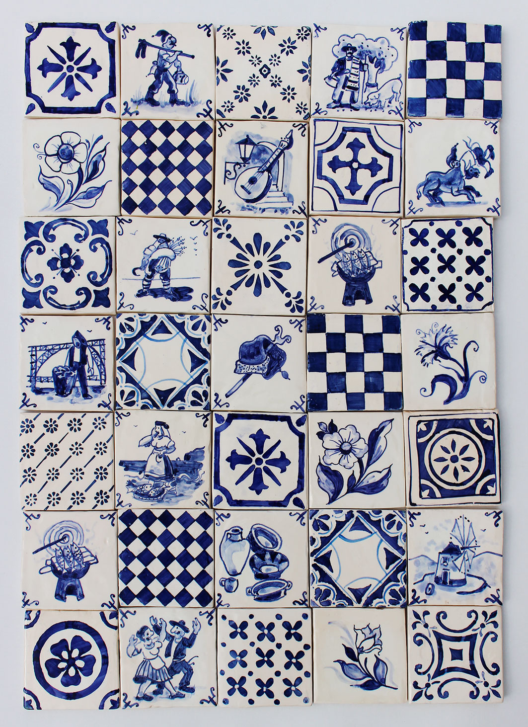 Azulejaria portuguesa santiago azulejos pintados - Azulejos de segunda mano ...