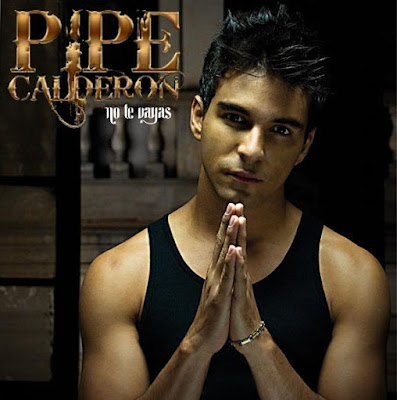 Foto de Pipe Calderón en portada de disco
