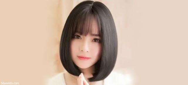 gaya rambut wanita terbaru