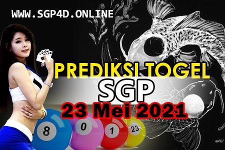 Prediksi Togel SGP 23 Mei 2021