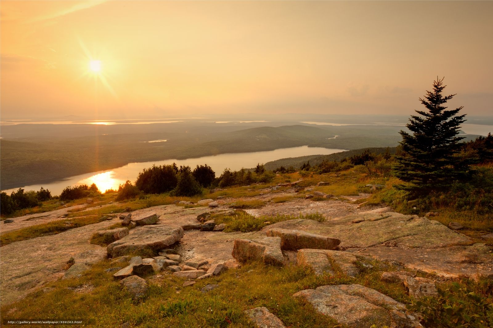 Download wallpapers Acadia National Park, Maine, USA wallpaper