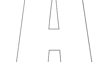 Letras del abecedario para imprimir en pdf 📍