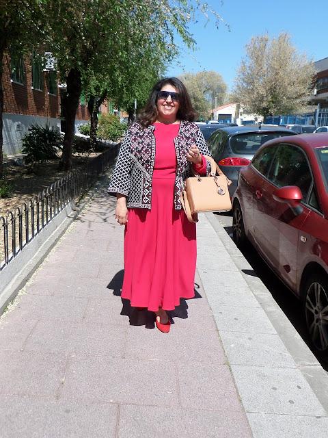 vestido años 50s