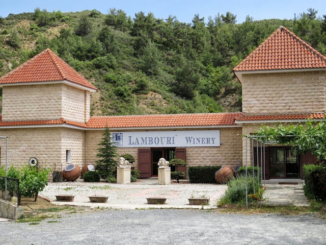 7 Days Cyprus Road Trip Itinerary: Lambouri Winery in the Troodos wine region