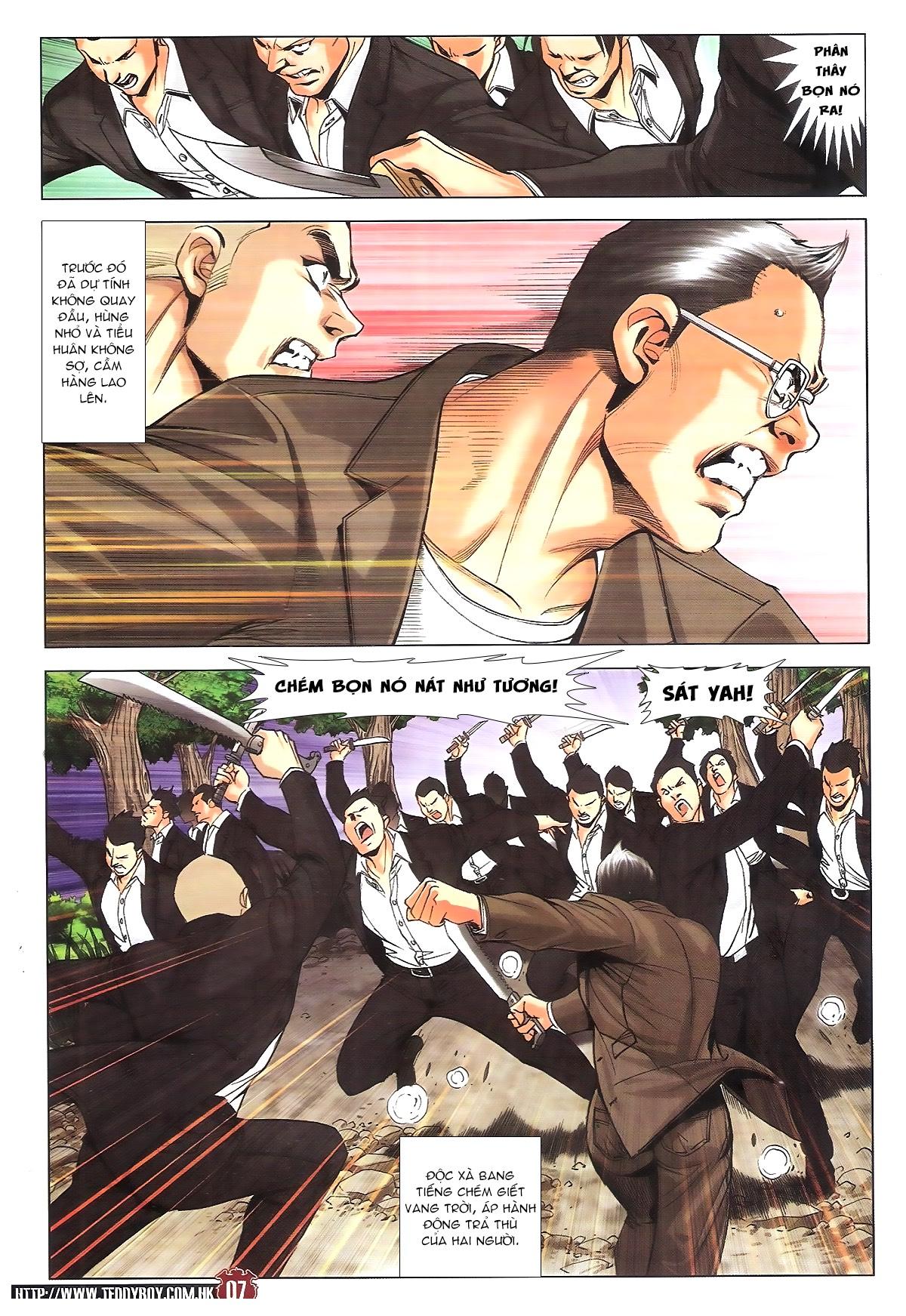 Người Trong Giang Hồ chapter 1805: thiên đao vạn trảm trang 6
