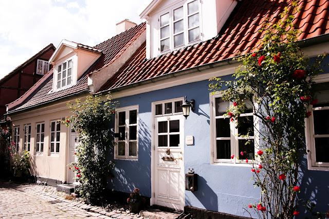 Mollestien street in Aarhus, Denmark