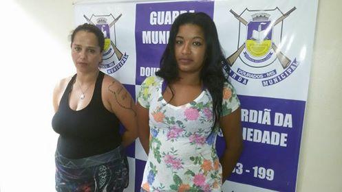 Guarda Municipal de Dourados (MS) detém mãe e filha por tráfico de drogas