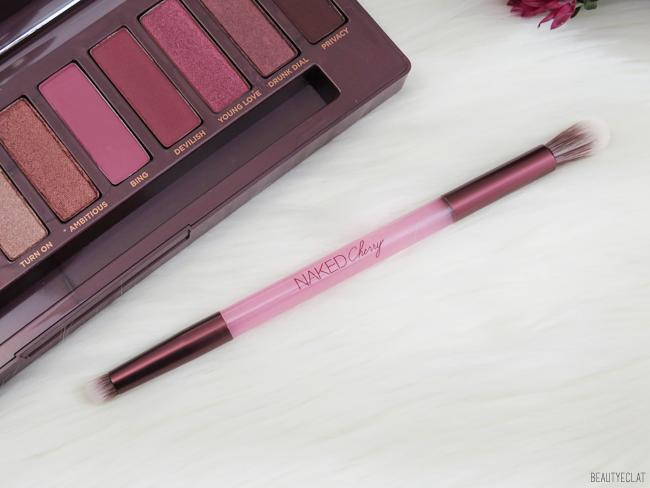 urban decay naked cherry pinceau double embout