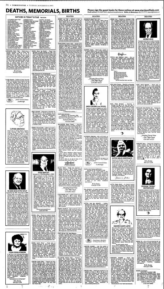 Olive Tree Genealogy Blog Free Access Toronto Star